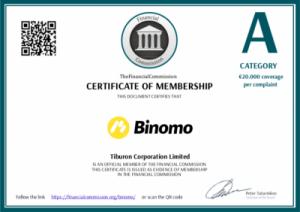 binomo diploma confiavel