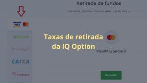 Taxas de retirada da IQ Option