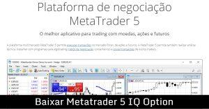 Baixar Metatrader 5 IQ Option