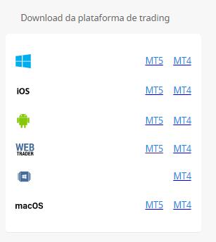 Aplicativo para download fbs