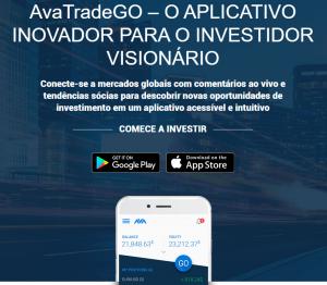 Avatrade Go Aplicativo para dispositivos móveis