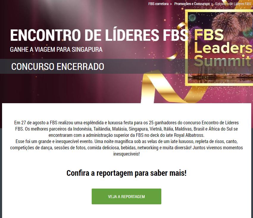 Encontro de líderes FBS