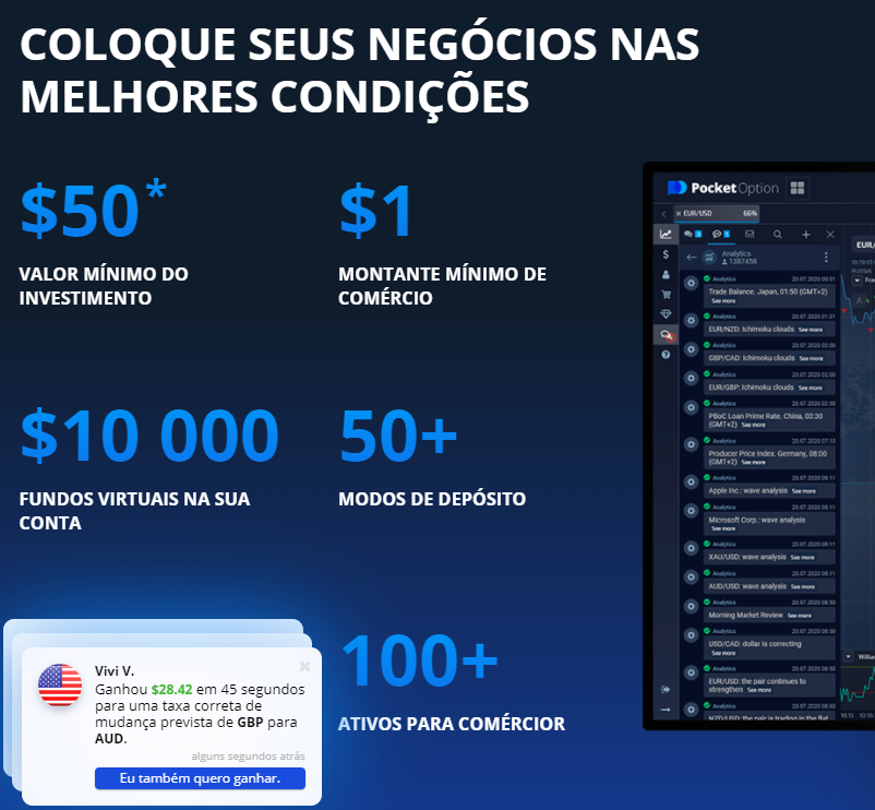O que é Pocket Option
