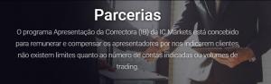 Parcerias e Patrocínios ic markets