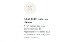 Sucesso do usuário FxPro