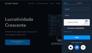 Site Olymp Trade login